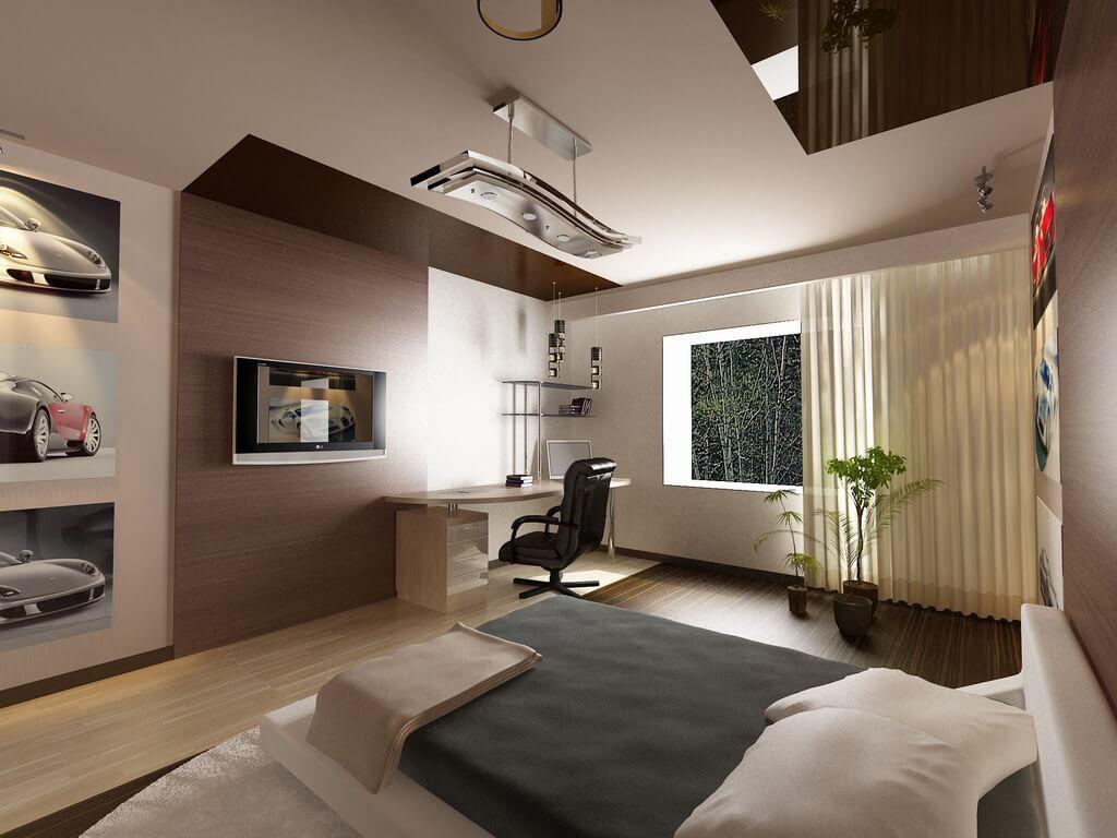 Натяжной потолок в комнату
